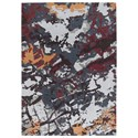 Signature Design by Ashley Contemporary Area Rugs Jame Multi Medium Rug - Item Number: R403232