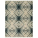 Signature Design by Ashley Contemporary Area Rugs Catheryn Blue Large Rug - Item Number: R403351