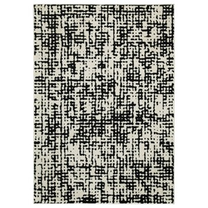 Jezel Black/White Large Rug