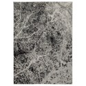 Signature Design by Ashley Contemporary Area Rugs Cailey Gray Large Rug - Item Number: R403381