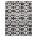 Signature Design by Ashley Contemporary Area Rugs Esmee Gray/Ivory Medium Rug - Item Number: R403412