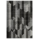Signature Design by Ashley Contemporary Area Rugs Chayse Gray Medium Rug - Item Number: R403462