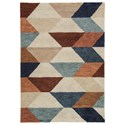 Ashley Signature Design Contemporary Area Rugs Jacoba Multi Large Rug - Item Number: R403531