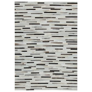 Lebelle White/Black Medium Rug