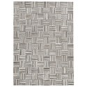 Signature Design by Ashley Contemporary Area Rugs Gilham Gray Medium Rug - Item Number: R403822