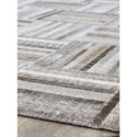 Signature Design by Ashley Contemporary Area Rugs Gilham Gray Large Rug