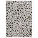 Signature Design by Ashley Contemporary Area Rugs Harish Black/Tan Large Rug - Item Number: R403831