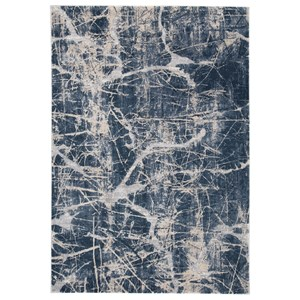 Tullis Cream/Navy/Gray Large Rug