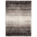 Signature Design by Ashley Contemporary Area Rugs Marleisha Black/Natural Medium Rug - Item Number: R404182