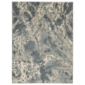 Jyoti Blue/Gray/Tan Large Rug