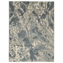 Ashley Signature Design Contemporary Area Rugs Jyoti Blue/Gray/Tan Large Rug - Item Number: R404241