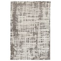 Signature Design by Ashley Contemporary Area Rugs Makalo Gray Large Rug - Item Number: R404331