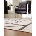 Signature Design by Ashley Contemporary Area Rugs Derval Ivory Large Rug