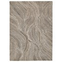 Signature Design by Ashley Contemporary Area Rugs Wysleigh Ivory/Brown/Gray Large Rug - Item Number: R404781