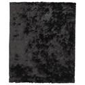 Signature Design by Ashley Contemporary Area Rugs Mattford Black Medium Rug - Item Number: R404932
