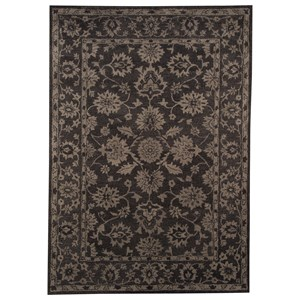 Signature Design by Ashley Traditional Classics Area Rugs Iwan Chocolate Medium Rug