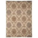 Signature Design by Ashley Traditional Classics Area Rugs Haidar Brown/Gray Medium Rug - Item Number: R400422