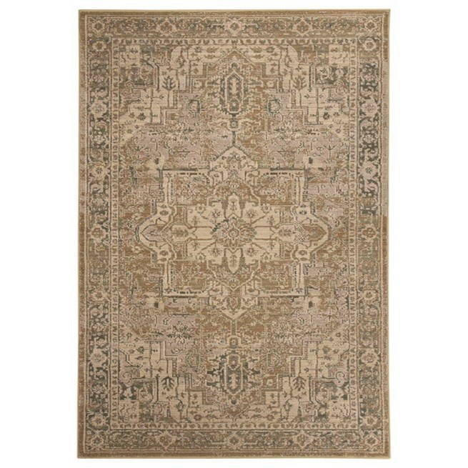 Signature Design by Ashley Traditional Classics Area Rugs Adjo Beige Large Rug - Item Number: R401041