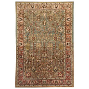 Signature Design by Ashley Traditional Classics Area Rugs Christen Aquamarine Medium Rug