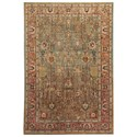 Signature Design by Ashley Traditional Classics Area Rugs Christen Aquamarine Large Rug - Item Number: R401111