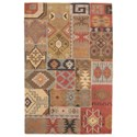 Signature Design by Ashley Traditional Classics Area Rugs Posey Multi Medium Rug - Item Number: R401572