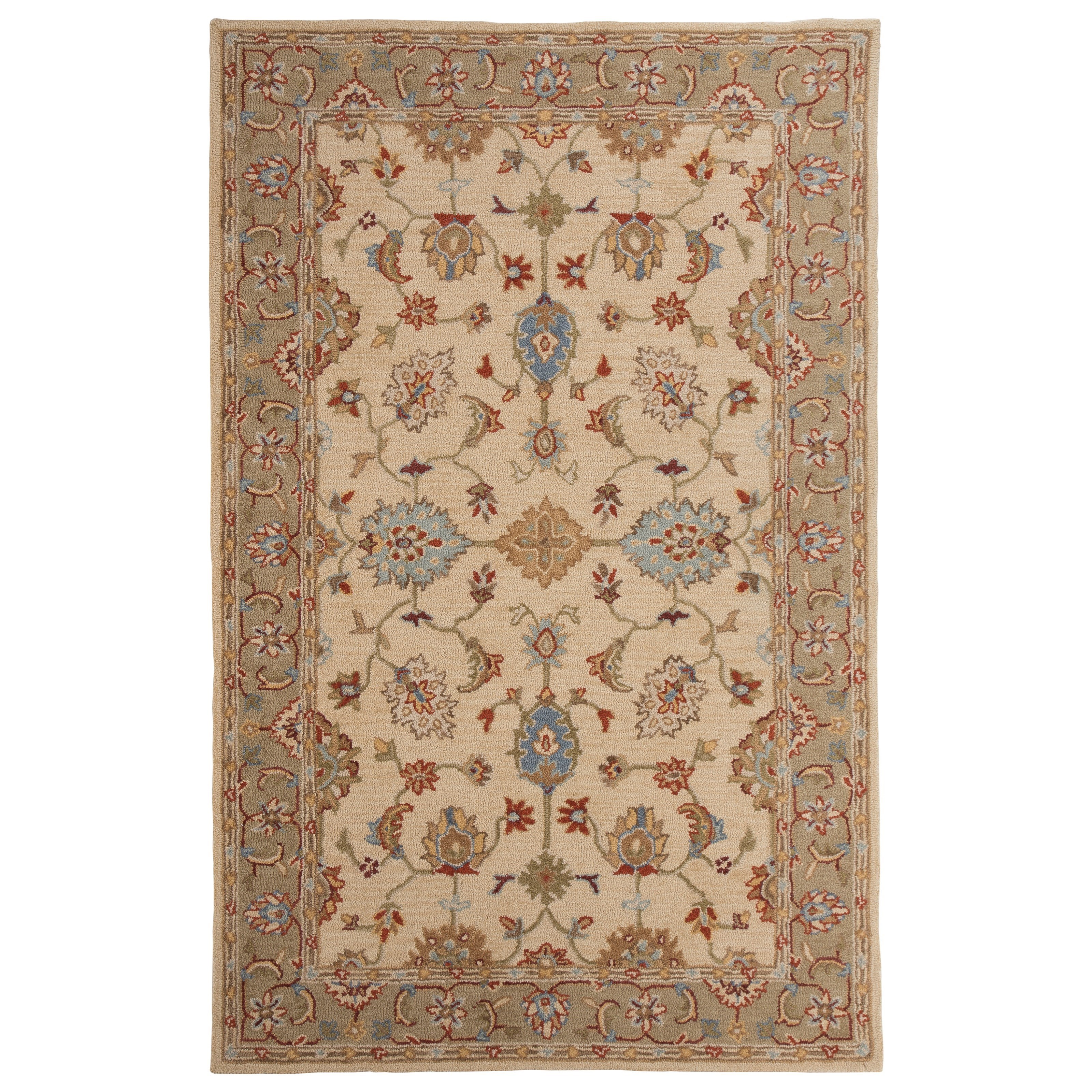 Signature Design by Ashley Traditional Classics Area Rugs Yarber Sahara Medium Rug - Item Number: R401622