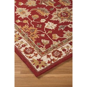 Signature Design by Ashley Traditional Classics Area Rugs Scatturro Red Medium Rug
