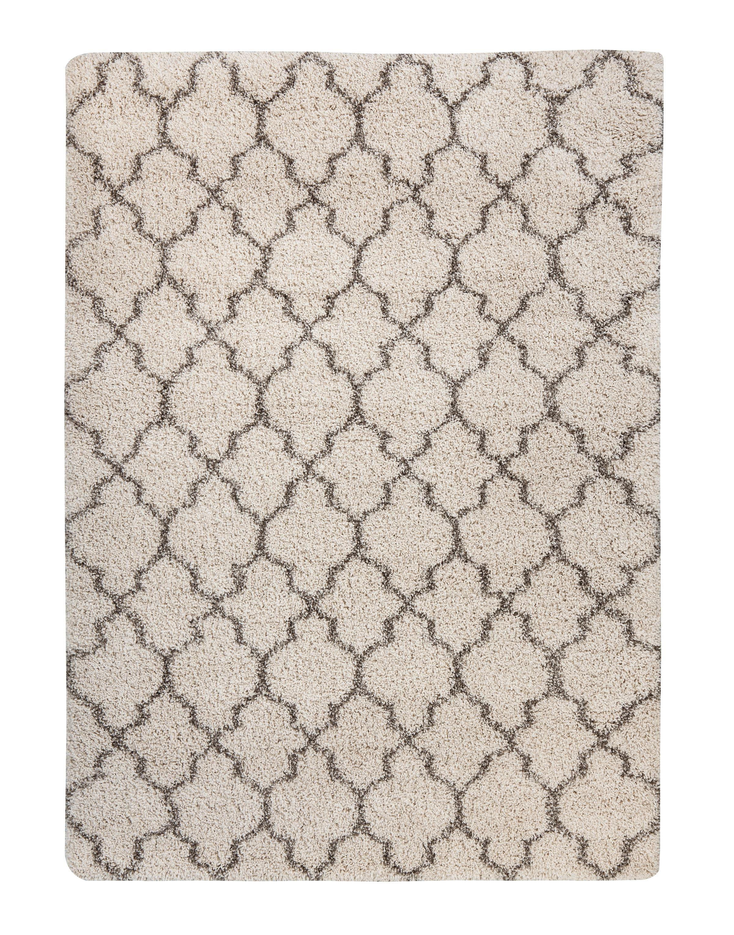 Signature Design by Ashley Traditional Classics Area Rugs Gate - Cream Medium Rug - Item Number: R401762
