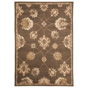 Signature Design by Ashley Traditional Classics Area Rugs Adelina Taupe Medium Rug