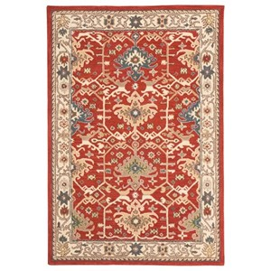 Signature Design by Ashley Traditional Classics Area Rugs Forcher Brick Medium Rug