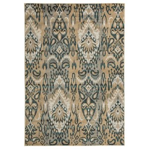 Signature Design by Ashley Traditional Classics Area Rugs Elesha Gray/Brown/Natural Medium Rug