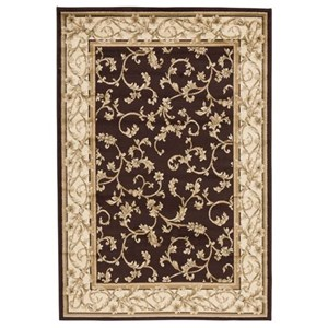 Signature Design by Ashley Traditional Classics Area Rugs Jameel Brown/Gold Large Rug