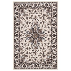 Signature Design by Ashley Traditional Classics Area Rugs Monia Ivory/Navy Medium Rug