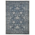 Signature Design by Ashley Traditional Classics Area Rugs Maxton Blue Medium Rug - Item Number: R403302