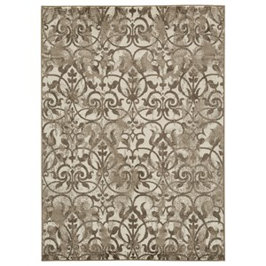 Signature Design by Ashley Traditional Classics Area Rugs Cadrian Natural Large Rug