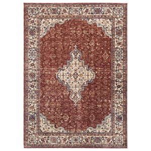 Haydrien Red Large Rug