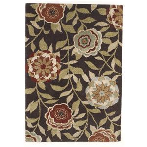 Signature Design by Ashley Transitional Area Rugs Ballari - Brown Medium Rug