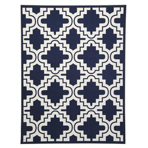 Ashley Signature Design Transitional Area Rugs Jacory Navy Medium Rug