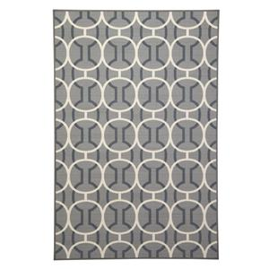 Signature Design by Ashley Transitional Area Rugs Abigail Gray/White Medium Rug