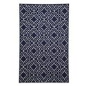 Signature Design by Ashley Transitional Area Rugs Nikalos Navy Medium Rug - Item Number: R325002