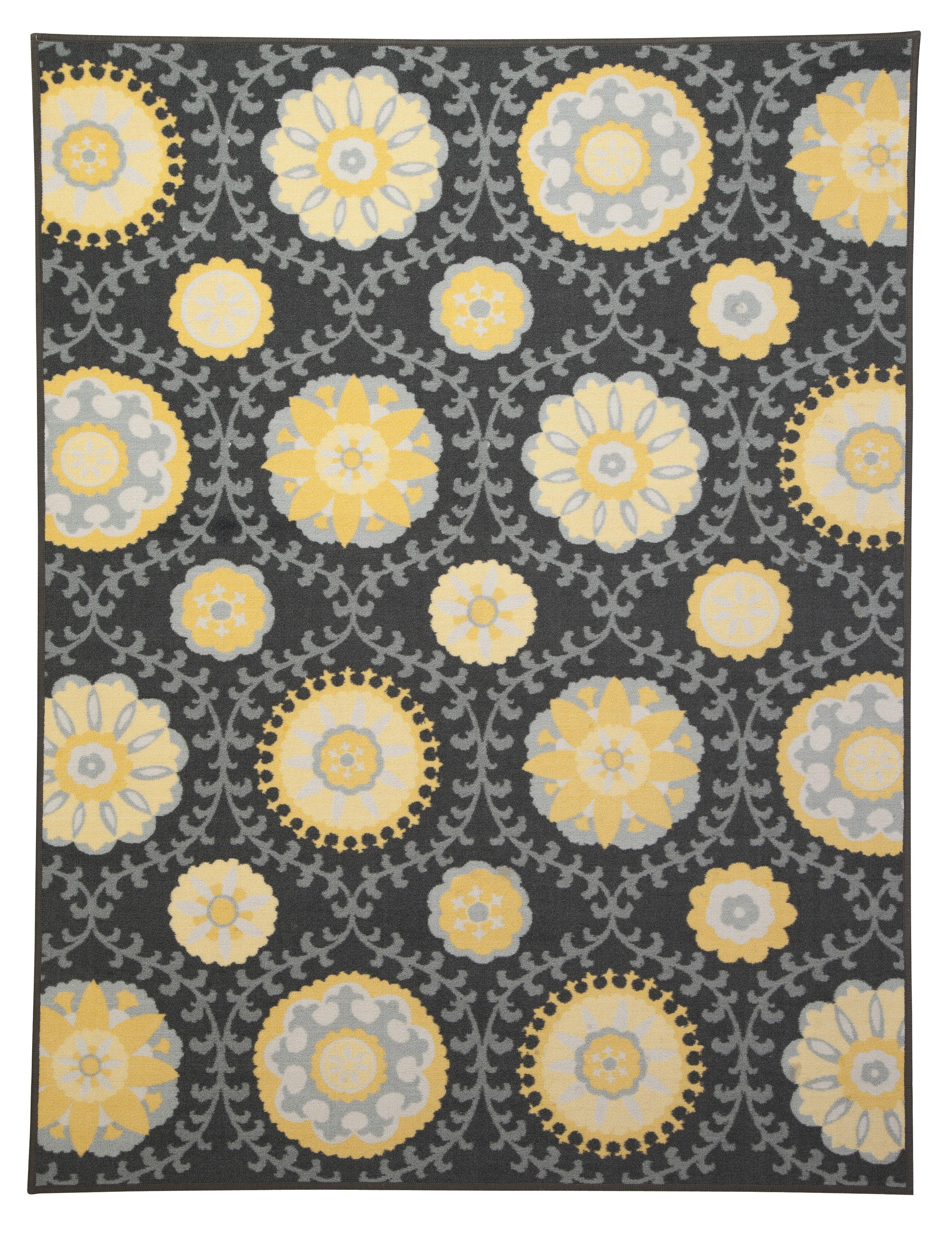 Signature Design by Ashley Transitional Area Rugs Jaget Gray/Green Medium Rug - Item Number: R329002