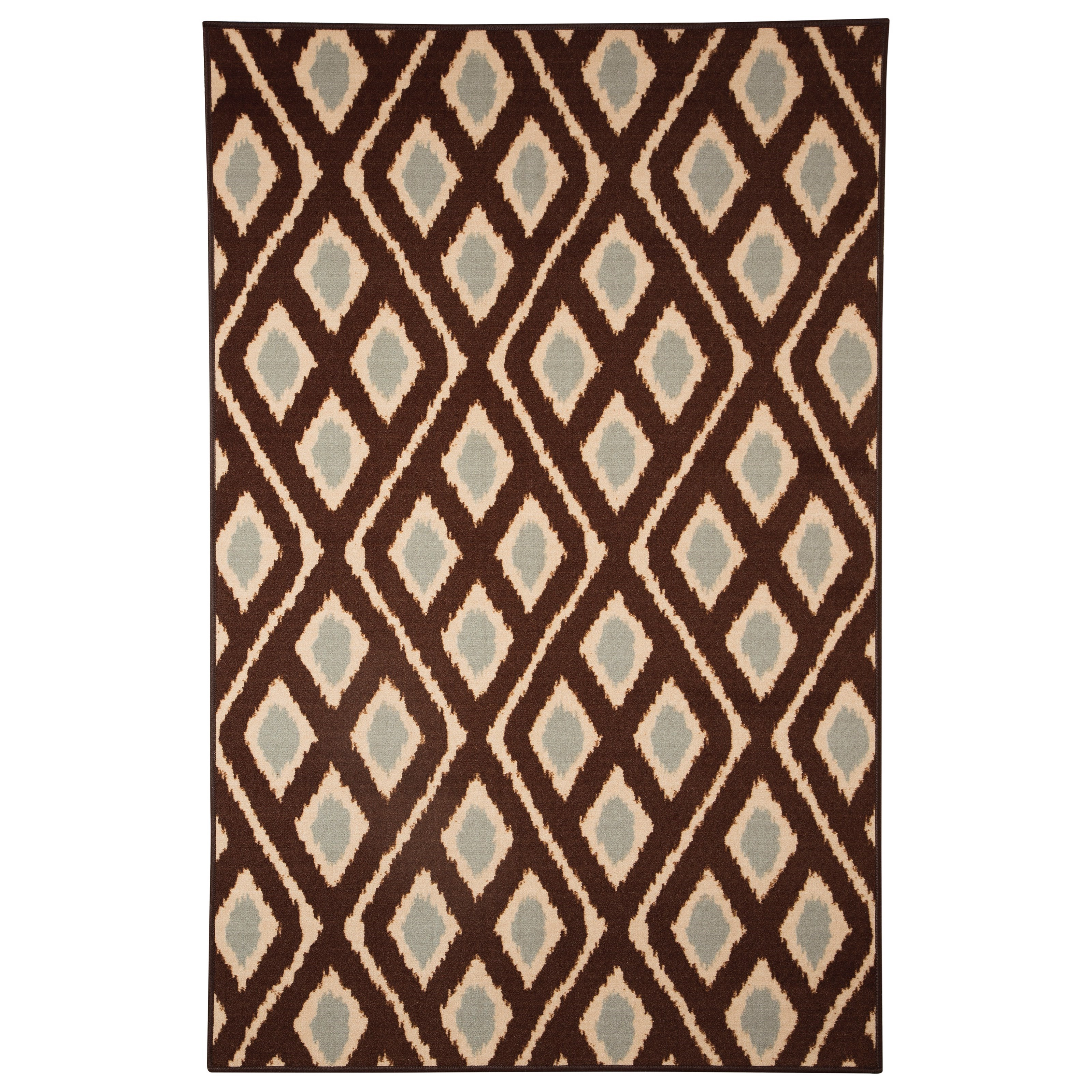 Signature Design by Ashley Transitional Area Rugs Abhay Blue/Beige Medium Rug - Item Number: R330002