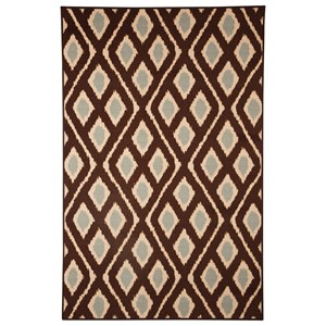 Ashley Signature Design Transitional Area Rugs Abhay Blue/Beige Medium Rug