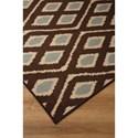 Signature Design by Ashley Transitional Area Rugs Abhay Blue/Beige Medium Rug