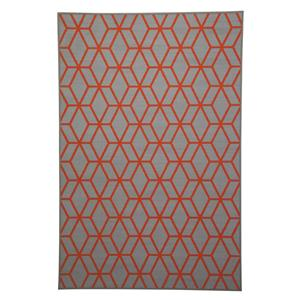 Signature Design by Ashley Transitional Area Rugs Rico Orange Medium Rug