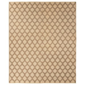 Signature Design by Ashley Transitional Area Rugs Baegan Natural/Taupe Medium Rug