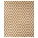 Signature Design by Ashley Transitional Area Rugs Baegan Natural/Taupe Medium Rug - Item Number: R400262