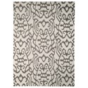 Signature Design by Ashley Transitional Area Rugs Benbrook Gray/Ivory Medium Rug - Item Number: R400302