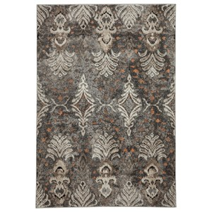Signature Design by Ashley Transitional Area Rugs Vidonia Gray/Taupe Medium Rug