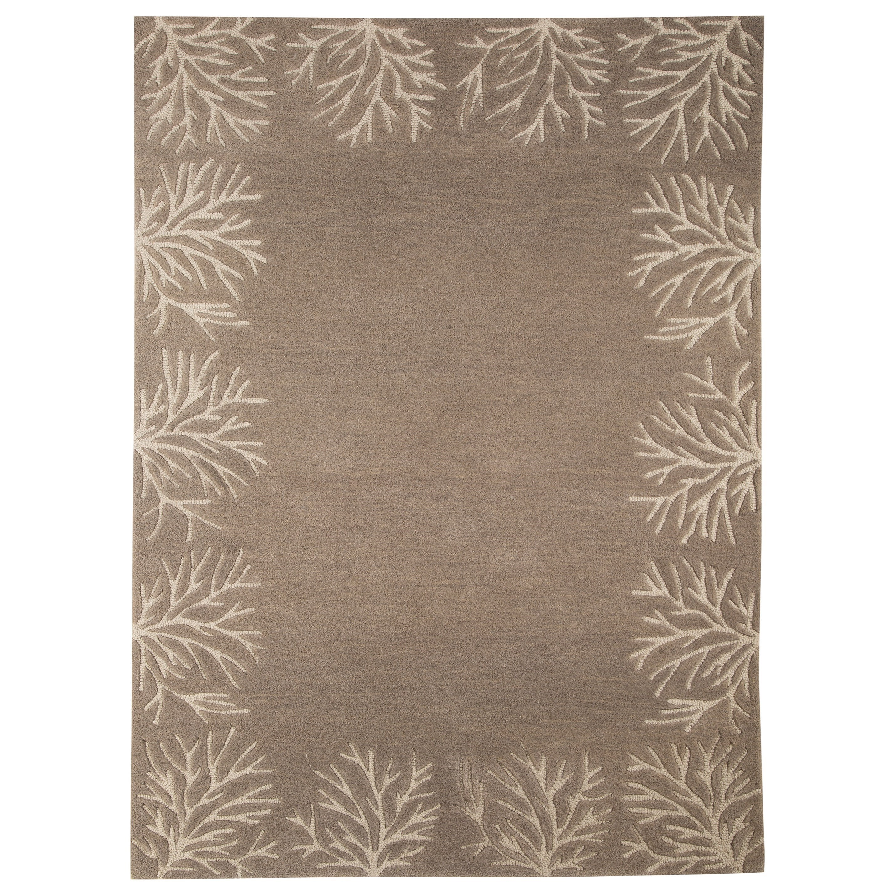 Signature Design by Ashley Transitional Area Rugs Kierin Brown Medium Rug - Item Number: R400322